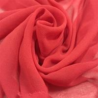 China fabric supplier 150cm plain dyed 100% T bulk chiffon fabric for sale