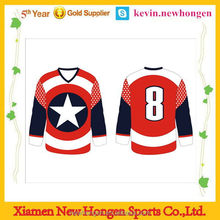 Customized best-selling ice hockey tops for team wear