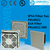 Filter fan China manufacturer Best selling axial ventilation fan, exhaust air duct fan