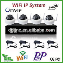 4CH 1.3 Megapixel 7.1 wireless home theater system factory price made in china
