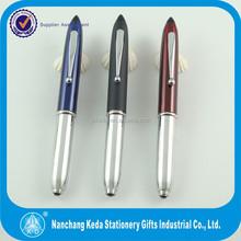 Good selling metal laser point pen new design metal roller pen