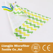 2015 China Best Selling Customized Silk Screen Printing Jewels Microfiber Cleaning Cloth