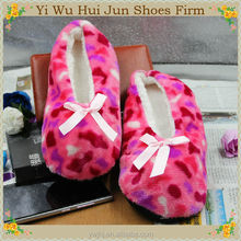 Washable 100% Cotton Personalized Dancing Slipper(HJCS003)