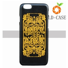 2015 new arrival best sell 3D totem print back cover PU leather phone for iphone 6 and 6S