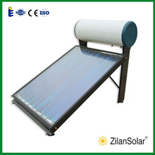 100L solar panel for your home flat panel solar water heater
