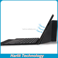 Android Tablet PC Bluetooth Keyboard Touchpad Panel Portfolio Leather Case