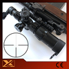 Compact ar15 tactical scope 1-6X24 first focal plane reticles scope