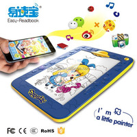 Hot selling educational toys for kids drawing, drawing stand with design pen