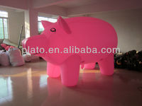Attractive! giant inflatable helium pig balloons