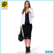 New Fashion Autumn Women Blazer In White Color
