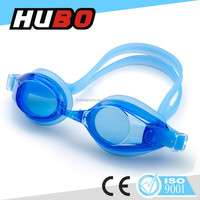fashion best price PC lens silicone anti fog adult funny swimming goggles