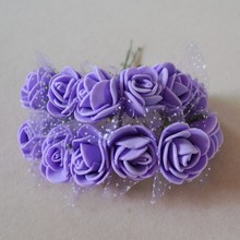 BE brand samples free of charge 2cm mini pe foam colourfast flower