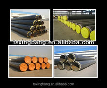 mongolia market hot selling PU foam pre-insulated pipe for chilled water supply