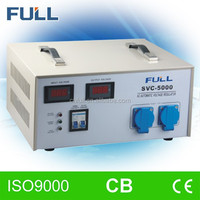 SVC Motor type automatic voltage stabilizer circuit