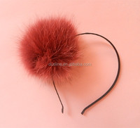 pom pom headband, special hair accessories