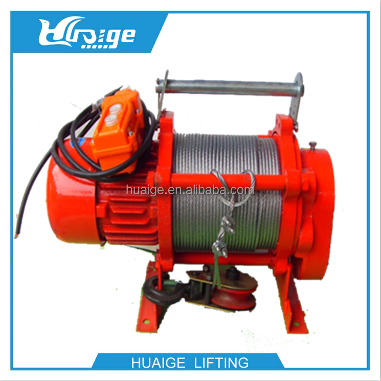 Kcd 500 1000kg Multifunctional Motor Hoist Electric