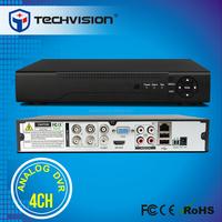 troditional black 4ch DVR h.264 in CCTV kits