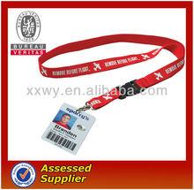 Identificación del estudiante tarjeta de cordón