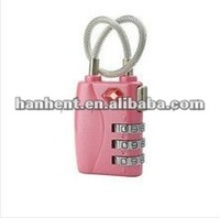 lovely 3-digital tsa combination number lock