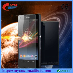 Cellphone Accessories Scratch Resistant 3D Screen Protector For Sony Xperia z l36h