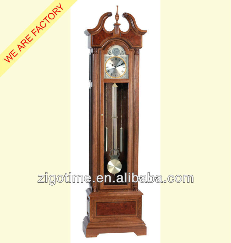 en bois antique horloge grand p re avec westminster carillon horloges id du produit 390682086. Black Bedroom Furniture Sets. Home Design Ideas