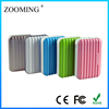 Best quality 2 usb output Luggage power pack 6000mah external battery charger