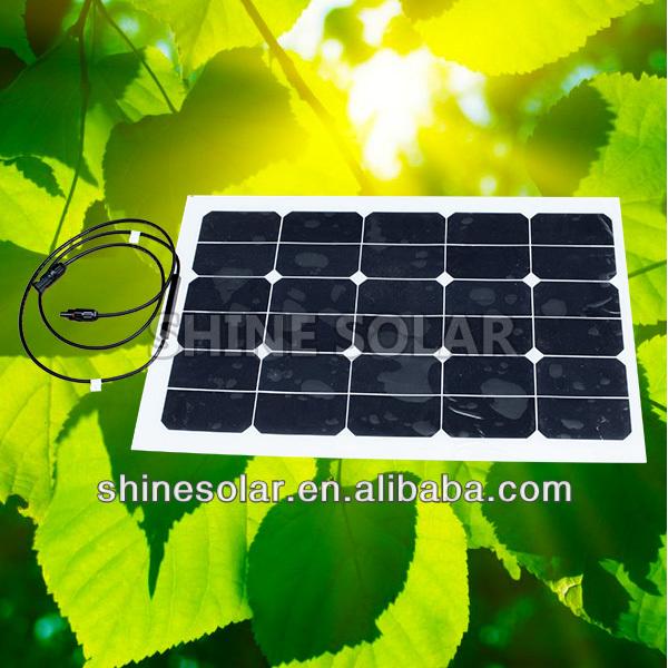 45 W painel solar flexível para motorhome caravana camper van rv barco ou iate