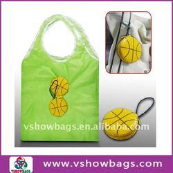 2011 promotional foldable polyester shopping bag
