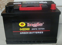 Car Maintenance Free battery 80D26R/L(12V70AH)