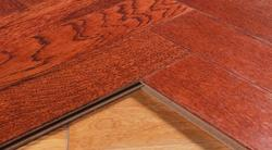 decoration floor water proof solid wood floor teak from China