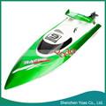 4CH 2.4 G Control remoto inalámbrico alta velocidad RC Racing barco verde