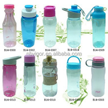 B14-SERIES-3 Sedex 4P Audit Food Safe Waterproof Design Plastic Water Bottle