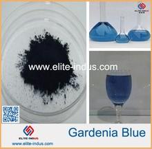 Natural food colorant Gardenia Blue