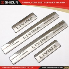 2013 Livina Stainless Steel Door Sill Scuff Plate