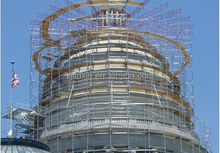 building formwork system of rosette scaffold or layher system