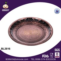 Round Shape Stainless Steel Tray Fashion Design