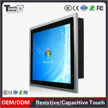12.1 inch industrial resistive Touch screen Panel pc IP65 fanless high quality