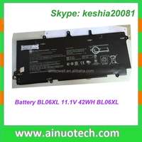 lithium battery for HP laptop G4 NC6200 8560P 6530B 6710B 5310M 11.1V 42WH P/N: BL06XL rechargeable battery