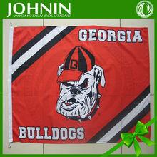 custom sports digital print georgia bulldogs flag