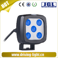 JGL Car Accessory 4x4 Led Work Lamp 9-60V 15W Led Forklift Lights Off Road Cree Blue SAFETY LIGHT FOR FORKLIFT