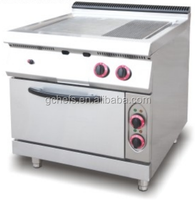 Gas Griddle (1/3 Grooved) With Gas Oven / Flat Grill / Steak Grill