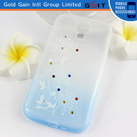 Fancy Cell Phone Cover Case For Samsung S4, TPU Case For Galaxy S4