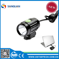 Mountain led brightful lamp on bike front position SG-Thumb II