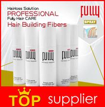 Fully hair building fibers for hair loss treatment 18 colors