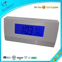 Sunny ABS Plasitc Desk Digital 24 Hour Small Alarm Clock