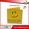 2015 new custom happy birthday song voice recording greeting card /sound greeting card /music greeting card
