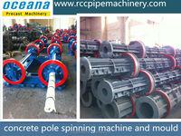 Square concrete electric pole, concrete pole steel mould, fabrication poteau electrique beton