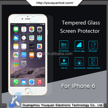 Hot selling screen protector film for iPhone 6 privacy tempered glass screen protector