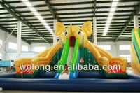 water slide inflatable, inflatable bouncer water slide