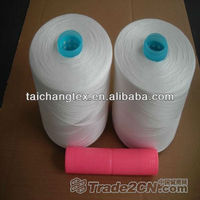 100% spun polyester sewing elastic thread